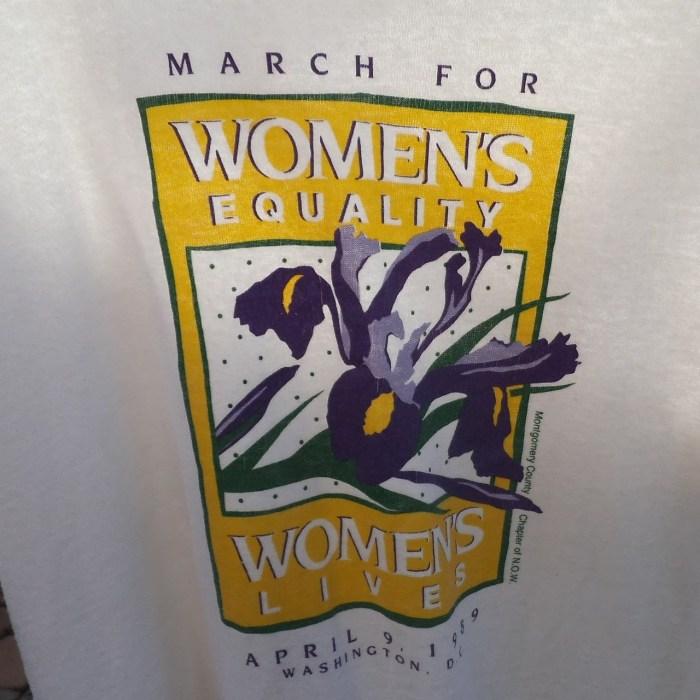 feminist t-shirt 1989