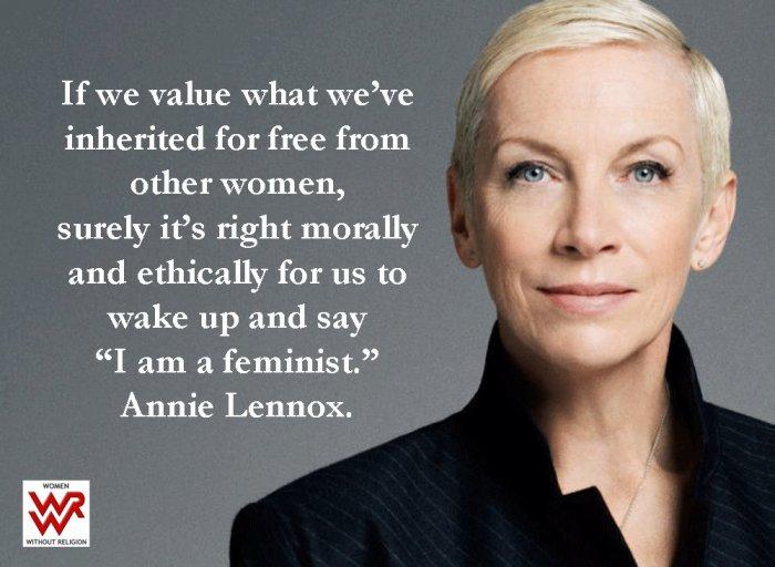 annie lennox feminist